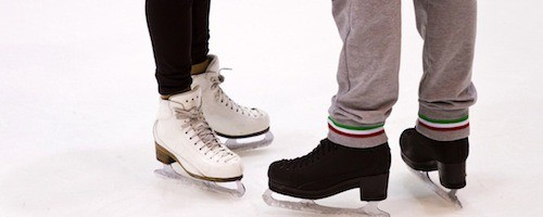 ice skating proposal idea