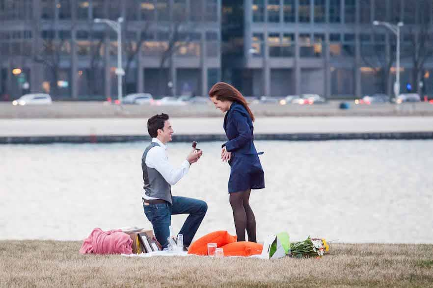 Marriage proposal planning - The Heart Bandits