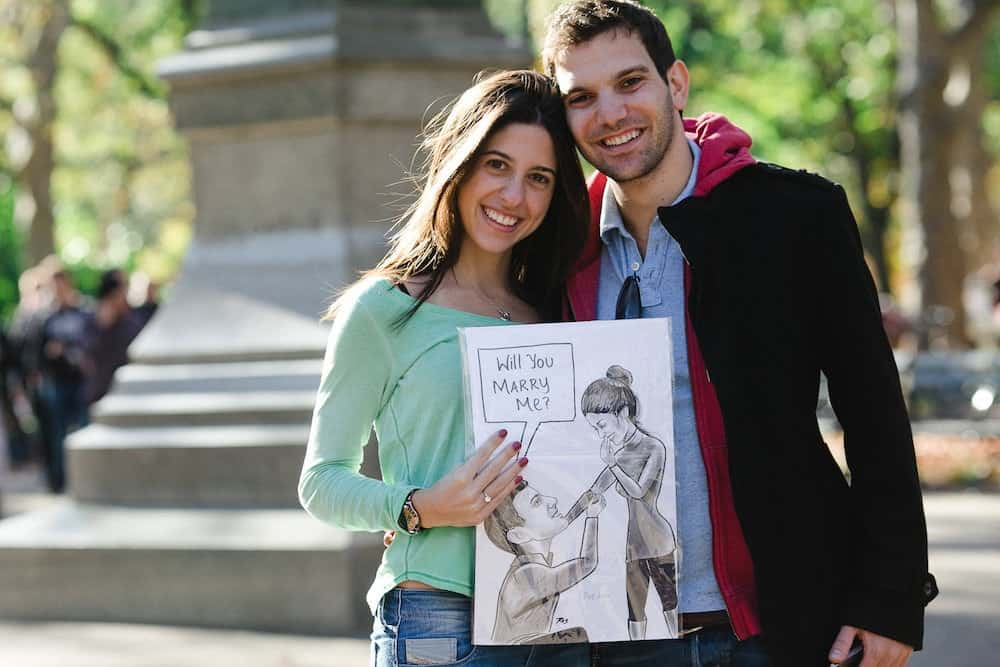 Proposal Ideas With Caricature