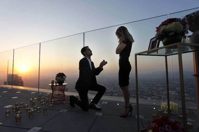 Los Angeles Marriage Proposal Ideas The Heart Bandits
